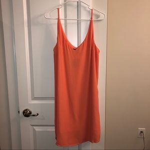 Topshop Coral Dress - NWT - Size 8